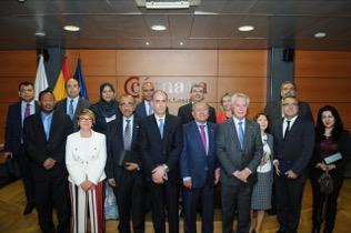 Reuniones con diplomáticos de Marruecos y Mauritania